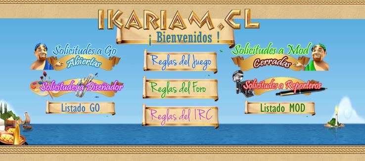 Bienvenido a Ikariam.cl